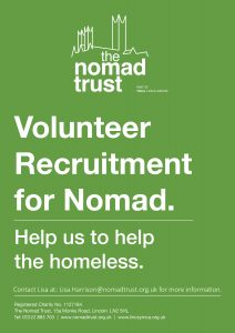 Nomad Volunteer Flyer