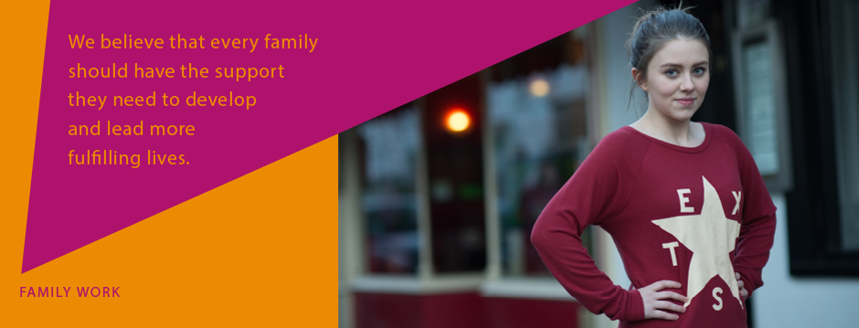 We believe that every family should have the support they need to develop and lean more fulfilling lives