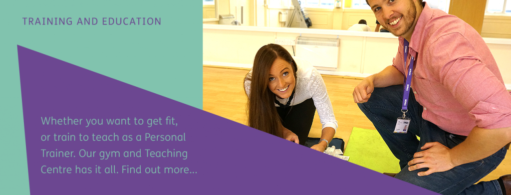 Whether you want to get fit, or train to teach as a Personal Trainer. Our gym and Teaching Centre has it all.