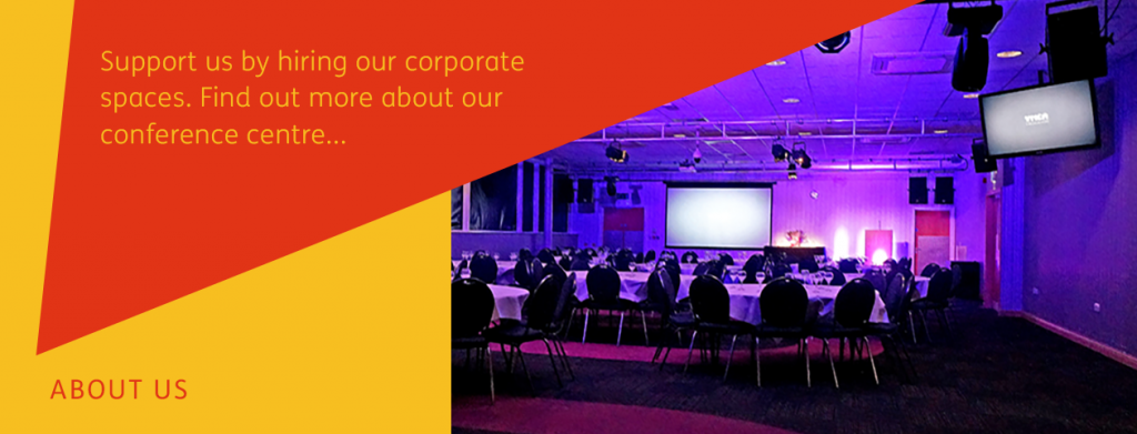 Support us by hiring our corporate spaces.